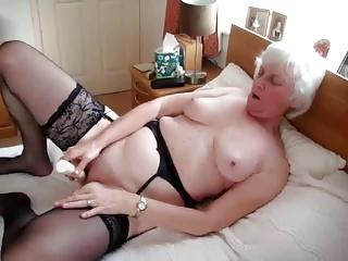 granny and dildo