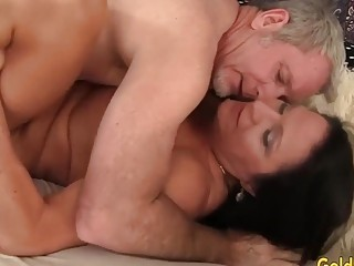 Golden Slut  Brunette Mature Beauty Leylani Wood Compilation Part 1