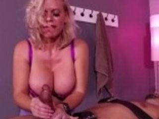 """MILF Caska Ruined Orgasm Handjob"""