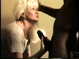 Antique bi-racial rectal lovemaking with light-haired