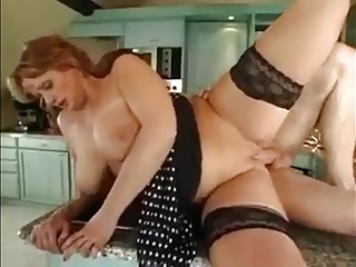 Mom Ass Fucked in the Kitchen