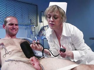 Brutal whorey Nurse tantalizes His schlong