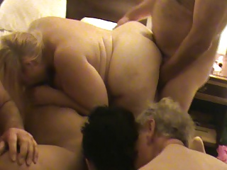 Mature BBW orgy 6
