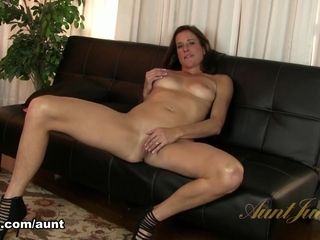 Sofie Marie in getting off flick - AuntJudys