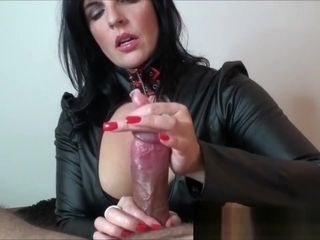 Dominatrix will jerk you until you explode.