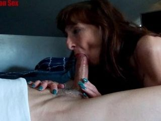 Lil brown-haired uber-sexy cougar Marie drinks gigantic geyser & Keeps Sucking|4::Blowjob,6::Amateur,12::Cumshot,20::cougar,31::Redhead,38::HD,46: