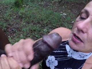 Big black cock throatfuck in man sausage part-3
