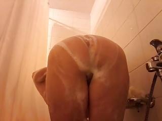 Slut in the bathroom