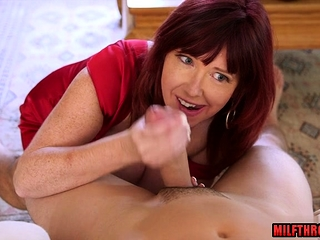 Enormous funbags cougar gonzo and jizz shot