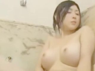 Japanese chinese with immense milk cans Makes herself jizm douche live at LickAToad