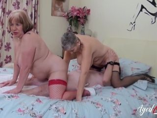 AgedLovE brit Matures xxx three way