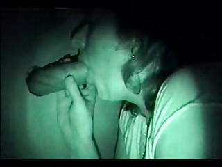 Mature blows through the gloryhole