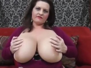 Maria Moore chats about being SOOO huge-chested!
