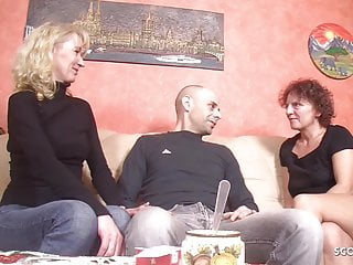 German Mature lure Stranger fellow to shag very first three way