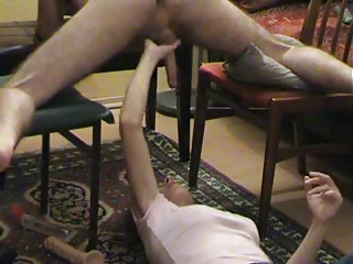 wife gives prostate massage and gets cumshot-