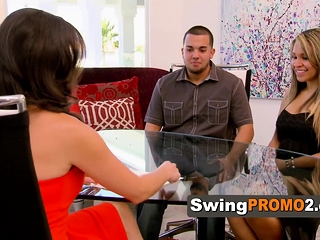 Married duo determines to spice up with a swingers soiree