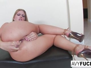 Glorious Avy unwraps off a glorious sundress in this glamour solo for you to enjoy|1::Big fun bags,20::MILF,25::Masturbation,26::Blonde,38::HD