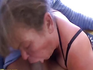 Furry plus-size midget grandmother multiracial boned