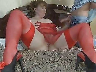 A chubby Redhead-Russian-MILF anal by young Guy - xHamster.com
