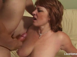 Cougar throating trunk and getting drilled firm