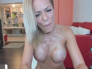 Massive titties light-haired cougar smashed stiff